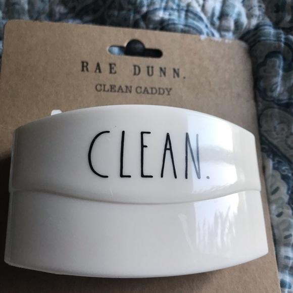 Rae Dunn Clean Caddy, new!
